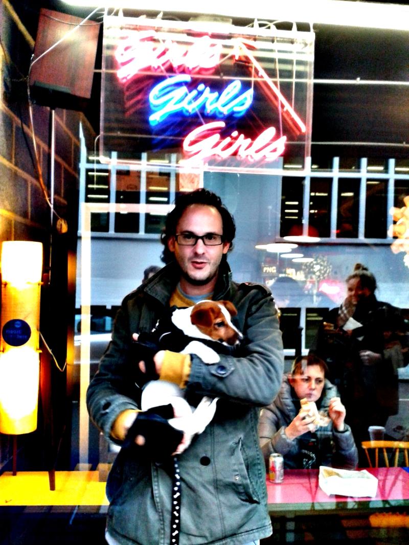 Andrew Herdon & Puppy Photo